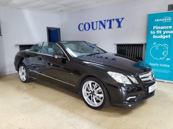 2011 MERCEDES-BENZ E CLASS 2.1 E220 CDI BLUEEFFICIENCY SPORT 2d 170 BHP £7995.00
