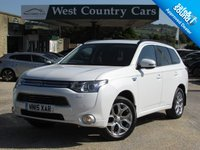 USED 2015 15 MITSUBISHI OUTLANDER 2.0 PHEV GX 4H 5d 162 BHP Low Mileage, Excellent Condition