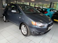 USED 2010 60 MITSUBISHI COLT 1.3 CZ2 3d 95 BHP **EXTREMELY LOW MILES**