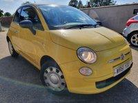 2011 FIAT 500 1.2 POP 3d 69 BHP £2995.00