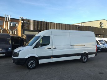2016 VOLKSWAGEN CRAFTER 2.0TDI CR35 TDI LWB HIGH ROOF STARTLINE 136BHP. F/S/H. FINANCE £7450.00