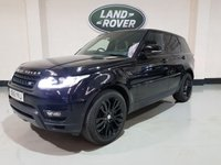 USED 2016 16 LAND ROVER RANGE ROVER SPORT 3.0 SDV6 HSE DYNAMIC 5d AUTO 306 BHP 1 Owner/ Tow Bar/ Power Boot/ Heated Leather/Nav/Camera