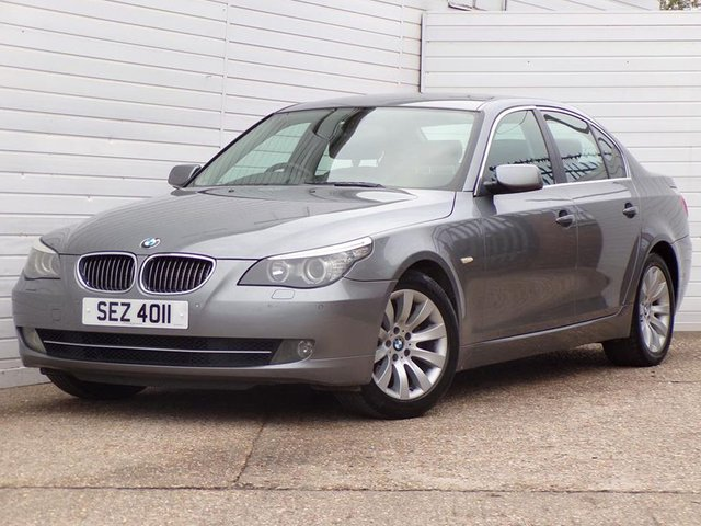 USED 2008 08 BMW 5 SERIES 3.0 525D SE 4d 195 BHP MAY 2020 MOT HEATEDLEATHER LCI