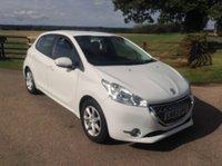 2013 PEUGEOT 208 1.4 ACTIVE E-HDI 5d AUTO 68 BHP £5290.00