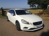 2011 VOLVO V60 1.6 T4 R-DESIGN 5d 177 BHP £5991.00
