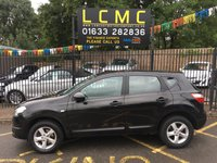USED 2010 10 NISSAN QASHQAI 1.6 VISIA 5d 113 BHP STUNNING METALLIC BLACK WITH BLACK LUXURY CLOTH UPHOLSTERY. ONLY TWO OWNERS FROM NEW. SEVEN STAMPS IN THE SERVICE BOOK. MOT TILL 14th JULY 2020. ALLOY WHEELS. AIR CONDITIONING. CENTRAL LOCKING. ELECTRIC WINDOWS. PLEASE GOTO www.lowcostmotorcompany.co.uk TO VIEW OVER 120 CARS IN STOCK