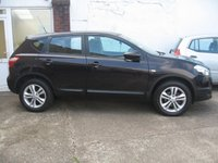USED 2013 13 NISSAN QASHQAI 1.5 ACENTA DCI 5d 110 BHP only 27,897 miles, service history, climate control, alloys, parking sensors, new cambelt fitted, cruise control, power folding mirrors