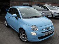 USED 2016 66 FIAT 500 1.2 POP STAR 3d 69 BHP ANY PART EXCHANGE WELCOME, COUNTRY WIDE DELIVERY ARRANGED, HUGE SPEC