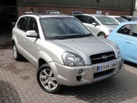 USED 2009 58 HYUNDAI TUCSON 2.0 CDX 4WD 5d 140 BHP ANY PART EXCHANGE WELCOME, COUNTRY WIDE DELIVERY ARRANGED, HUGE SPEC