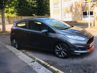 USED 2016 66 FORD FIESTA 1.0 T EcoBoost ST-Line (s/s) 3dr CATEGORY S , £0 ROAD TAX