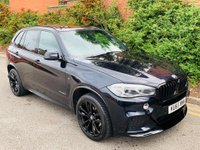 USED 2015 65 BMW X5 3.0 30d M Sport Auto xDrive (s/s) 5dr PERFORMANCE KIT 7 SEATS PAN RF