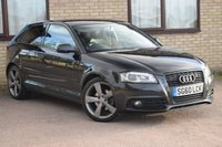 USED 2010 60 AUDI A3 2.0 TDI S LINE SPECIAL EDITION 3d 138 BHP 2 OWNERS + BOSE + HALF LEATHER + PRIVACY GLASS + XENONS
