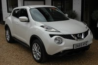 USED 2015 65 NISSAN JUKE 1.2 ACENTA PREMIUM DIG-T 5d 115 BHP Service History and very much on point being a small engined Petrol SUV