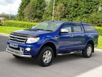 2015 FORD RANGER 2.2 LIMITED 4X4 DCB TDCI 4d AUTO 148 BHP £14950.00