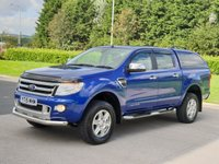 USED 2015 15 FORD RANGER 2.2 LIMITED 4X4 DCB TDCI 4d AUTO 148 BHP