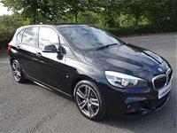 2015 BMW 2 SERIES 2.0 218D M SPORT ACTIVE TOURER 5d AUTO 148 BHP £12490.00