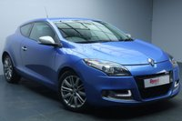 USED 2013 63 RENAULT MEGANE 1.6 GT LINE TOMTOM ENERGY DCI S/S 3d 130 BHP ALLOYS+1/2 LEATHER+BLUETOOTH+NAV+AIR CON+USB+MP3