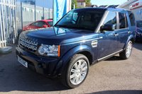 USED 2013 13 LAND ROVER DISCOVERY 3.0 4 SDV6 HSE 5d AUTO 255 BHP
