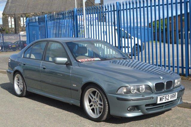 2002 52 BMW 5 SERIES 3.0 530I SPORT 4d AUTO 228 BHP E39 CLASSIC