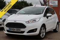 USED 2015 64 FORD FIESTA 1.2 ZETEC 5d 81 BHP NATIONWIDE DELIVERY + FINANCE AVAILABLE