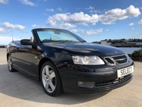 USED 2006 55 SAAB 9-3 2.0L VECTOR T 2d 150 BHP Long MOT till SEPTEMBER 2020 -drives extremely well for year-still a head turner with flick of a switch electric roof, leather interior-genuine fabulous part exchanmge to clear