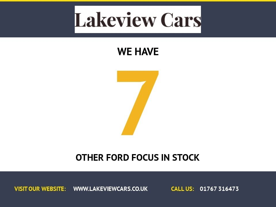 USED 2012 12 FORD FOCUS 1.6 EDGE TDCI 95 5d 94 BHP
