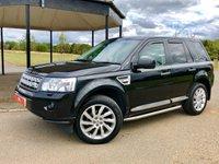 2011 LAND ROVER FREELANDER 2.2 SD4 HSE AUTO 190 BHP 5DR ESTATE £SOLD