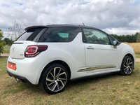 USED 2016 66 DS DS 3 1.2 PURETECH GIVENCHY LE MAKEUP 109 BHP CONVERTIBLE 3 DR MATTE PAINT* FULL LEATHER*