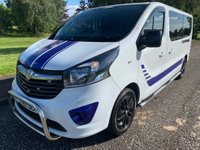 USED 2017 67 VAUXHALL VIVARO 1.6 2900 L2H1 Combi+ 5dr Low Miles! 2 Owners! 9 Seater!