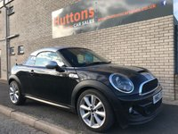 2012 MINI COUPE 1.6 COOPER S 2d 181 BHP £6295.00