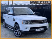 USED 2011 11 LAND ROVER RANGE ROVER SPORT 3.0 TDV6 HSE 5d AUTO 245 BHP *HUGE SPEC, 22'' ALLOY WHEELS, MUST SEE*