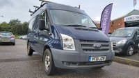 USED 2012 61 FORD TRANSIT 2.2 330 1d 124 BHP 1 PREVIOUS KEEPER *   ROOF RACK *  BULKHEAD *   FULL YEAR MOT *
