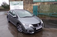 USED 2016 66 HONDA CIVIC 1.6 I-DTEC SE PLUS NAVI 5d 118 BHP Touch Screen SAT NAV.....Full Service History