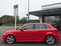 USED 2014 64 AUDI A3 2.0 SPORTBACK TDI QUATTRO S LINE 5d AUTO 184 BHP ***Nav,HeatedSeats,TechPack,Cruise,Xenons,1Owner***