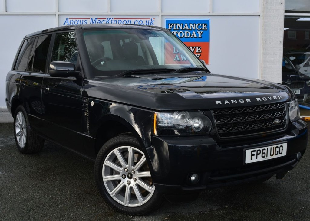 USED 2011 N LAND ROVER RANGE ROVER 4.4 TDV8 VOGUE 5d Family SUV AUTO Stunning in Black with Massive High Spec ***PERFECT FAMILY SUV**