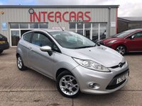USED 2012 12 FORD FIESTA 1.4 ZETEC 16V 3d 96 BHP FULL SERVICE HISTORY.