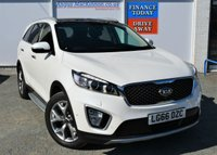 USED 2016 66 KIA SORENTO 2.2 CRDI KX-4 5d Family 4x4 SUV AUTO Highest Spec Sorento For Sale in the UK with Panoramic Glass Electric Sunroof Heated and Cooled Leather Front Memory Seats Heated Steering Wheel Heated Rear Seats Sat Nav DAB Digital Radio Bluetooth Mobile Hands Free Ft and Rr Parking Sensors Rear Camera Adaptive Cruise Control Brake Assist BLIS Lane Assist Tinted Privacy Glass Rear Blinds Side Steps Electric Tailgate Opening Kia Service History Kia 7 Year Warranty until 2023 and Ready for you to Finance and Drive Away Today ** LOW MILEAGE FOR AGE**