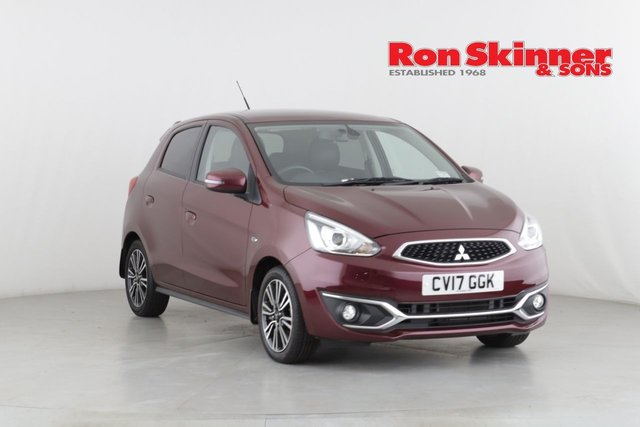 View our 2017 17 MITSUBISHI MIRAGE 1.2 JURO 5d AUTO 79 BHP