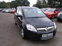USED 2008 58 VAUXHALL ZAFIRA 1.6 EXCLUSIV 5d 105 BHP Nice Mileage Zafira, Full Year MOT Only 1 Former Keeper!