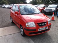 USED 2006 56 HYUNDAI AMICA 1.1 CDX 5d AUTO 63 BHP Very Low Mileage Automatic Hyundai! Drives Nicely and Has a Long MOT!