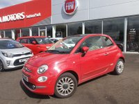 USED 2015 65 FIAT 500 1.2 LOUNGE 70 BHP SUNROOF