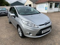 USED 2009 59 FORD FIESTA 1.4 ZETEC TDCI 5d 68 BHP ONE YEAR WARRANTY INCLUDED / FULL SERVICE HISTORY / VOICE COMMS