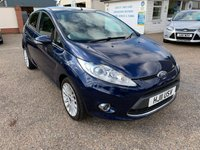 USED 2011 11 FORD FIESTA 1.4 TITANIUM 5d 96 BHP ONE YEAR WARRANTY INCLUDED  / FULL SERVICE HISTORY
