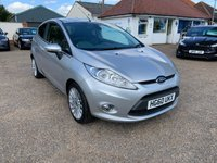 USED 2011 60 FORD FIESTA 1.4 TITANIUM 3d AUTO 96 BHP ONE YEAR WARRANTY INCLUDED / CRUISE CONTROL . VOICE COMMS / USB / BLUETOOTH / FULL SERVICE HISTORY