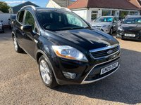 USED 2009 09 FORD KUGA 2.0 ZETEC TDCI 2WD 5d 134 BHP ONE YEAR WARRANTY INCLUDED / FULL SERVICE HISTORY WITH 9 STAMPS