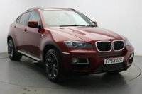 USED 2013 63 BMW X6 3.0 XDRIVE30D 4d AUTO 241 BHP Sat Nav-Leather Interior-DAB