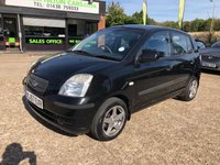USED 2007 57 KIA PICANTO 1.1 LS 5d 65 BHP 1 FORMER KEEPER, ALLOYS, AIR CON, MOT, 9 SERVICE STAMPS, SPARE KEY