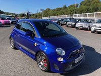 USED 2016 16 ABARTH 500 1.4 595 COMPETIZIONE 3d 177 BHP 177bhp Competizione with Suede sports seats & Monza exhaust
