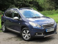 USED 2015 64 PEUGEOT 2008 1.2 CROSSWAY 5d 82 BHP FULL TOUCH SCREEN SATELLITE NAVIGATION