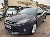USED 2013 63 FORD FOCUS 1.0 ZETEC 5d 99 BHP